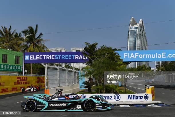 Mitch Evans Panasonic Jaguar Racing Jaguar IType 3 during the 2019 Sanya EPrix as part of Formula E 2019 season on March 23 2019 in Hainan Island...