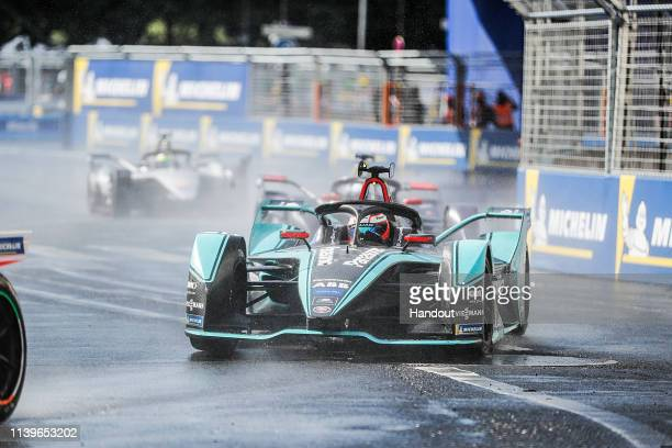 Mitch Evans Panasonic Jaguar Racing Jaguar IType 3 during the ABB FIA Formula E Championship Paris EPrix on April 27 2019 in Paris France