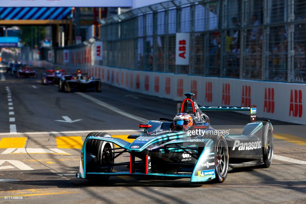 Mitch Evans (NZL), Panasonic Jaguar Racing, Jaguar I-Type II. on June 10, 2018 in Zurich, Switzerland.