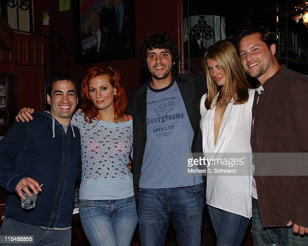 Mitch Fatel April Macie Ben Gleib Courtney Hansen and Scot Richardson