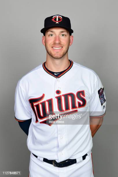 Mitch Garver of the Minnesota Twins poses during Photo Day on Friday February 22 2019 at CenturyLink Sports Complex in Fort Myers Florida