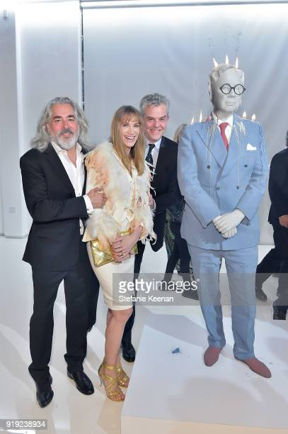 Mitch Glaser Kelly Lynch and Danny Houston attend Mr Chow 50 Years on February 16 2018 in Vernon California