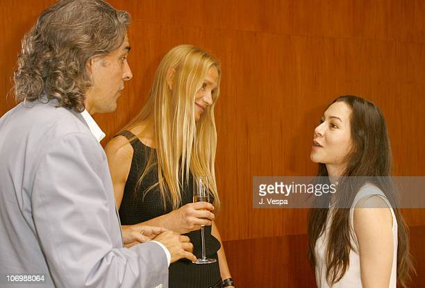 Mitch Glazer Kelly Lynch and China Chow *EXCLUSIVE*