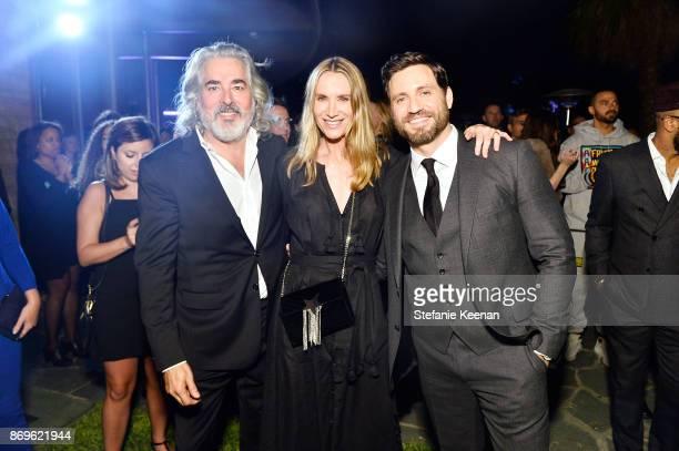 Mitch Glazer Kelly Lynch and Edgar Ramirez attend GQ Style Hugo Boss celebrate Amazing Spaces with Edgar Ramirez at John Lautner's Harvey House on...