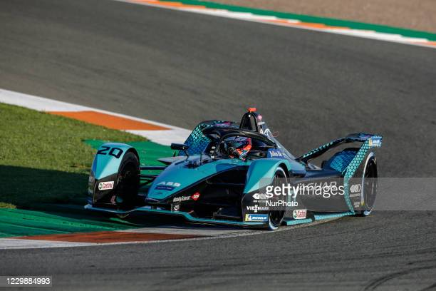 Mitch , Jaguar Racing, Jaguar I-Type V, action during the ABB Formula E Championship official pre-season test at Circuit Ricardo Tormo in Valencia on...
