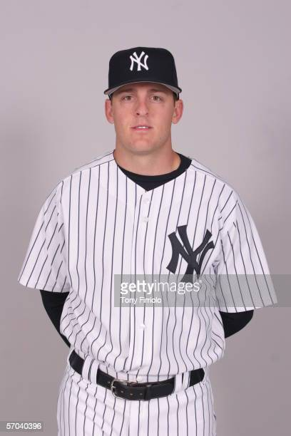 Mitch Jones of the New York Yankees during photo day at Legends Field on February 24 2006 in Tampa Florida