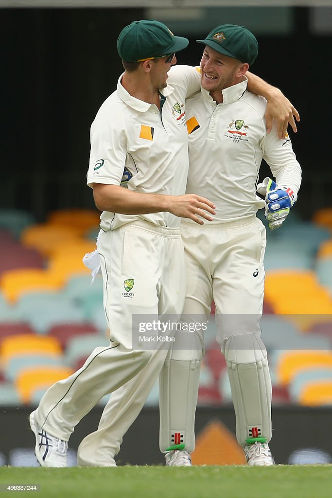 Australia v New Zealand - 1st Test: Day 5