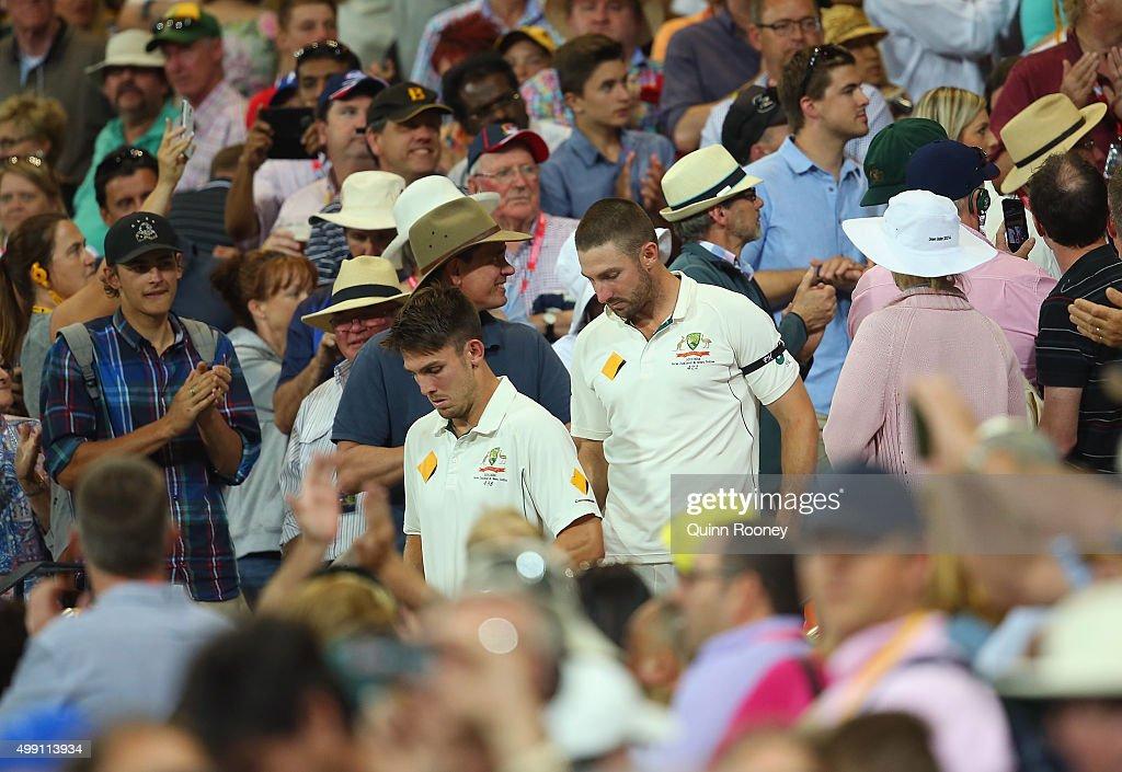 Australia v New Zealand - 3rd Test: Day 3 : News Photo