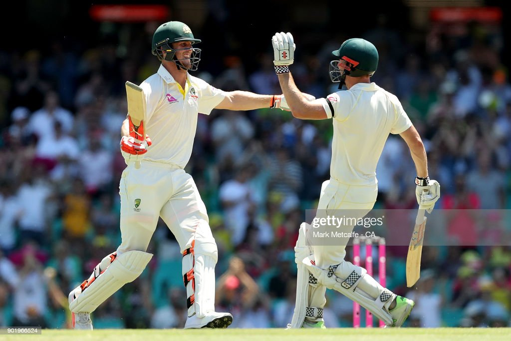 Australia v England - Fifth Test: Day 4