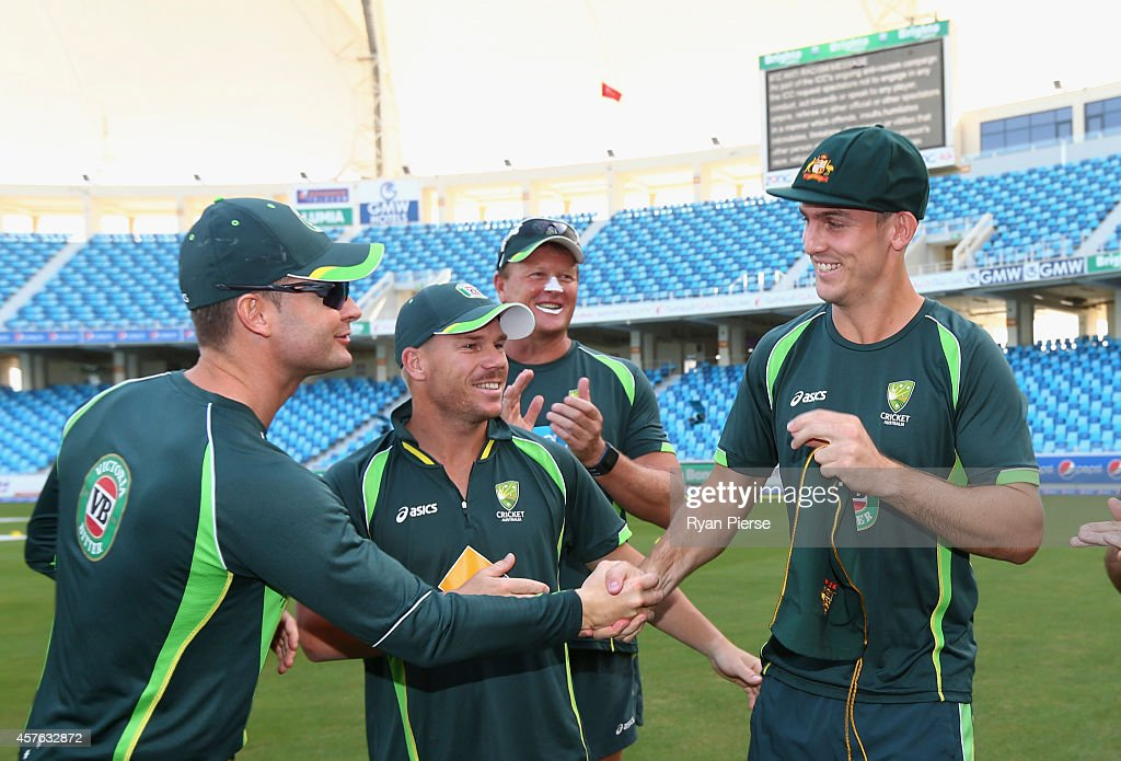Pakistan v Australia - 1st Test Day One : News Photo