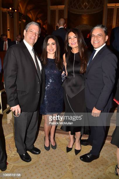 Mitch Modell Carissa Kranz Nazee Moinian and Joseph Moinian attend American Friends Of Rabin Medical Center 2018 Annual NYC Gala at The Plaza on...