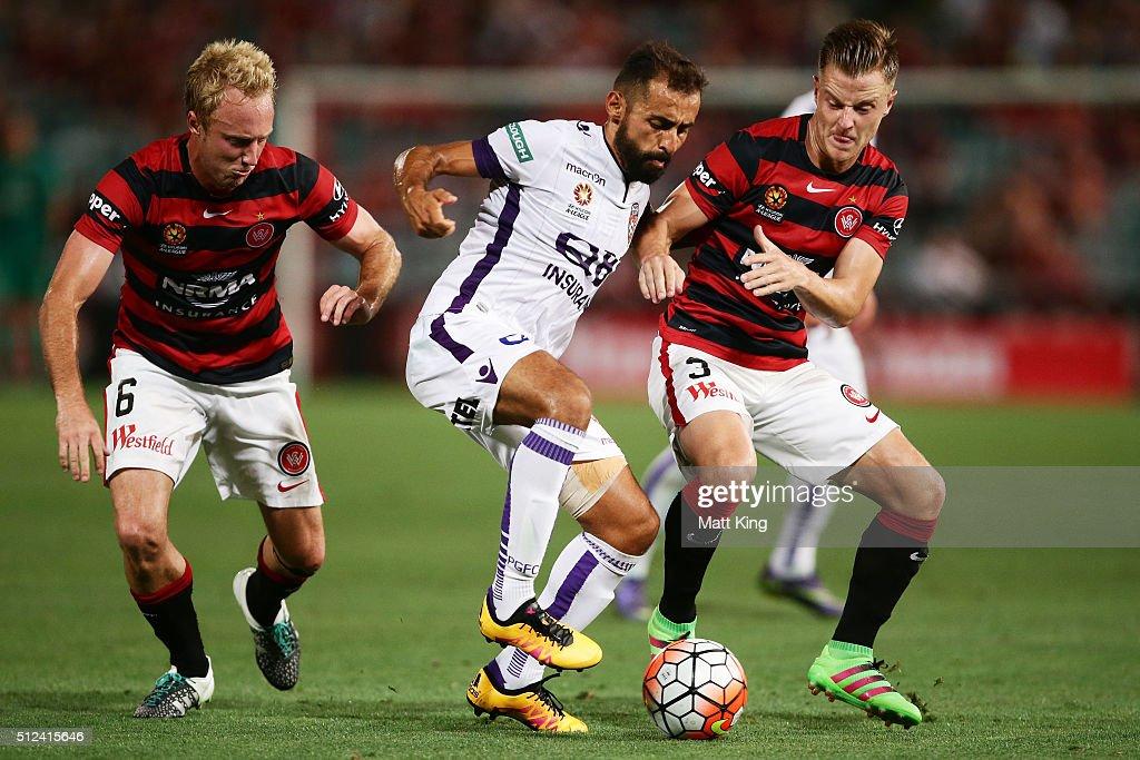 A-League Rd 21 - Western Sydney v Perth