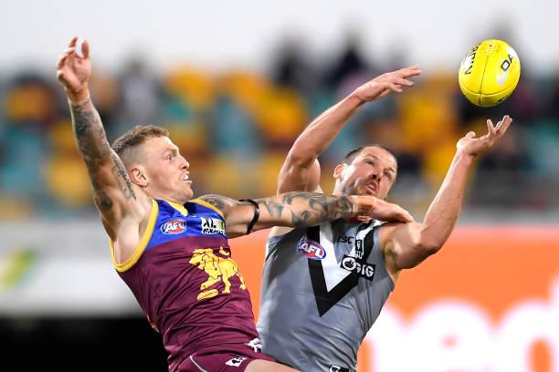 AUS: AFL Rd 5 - Brisbane v Port Adelaide
