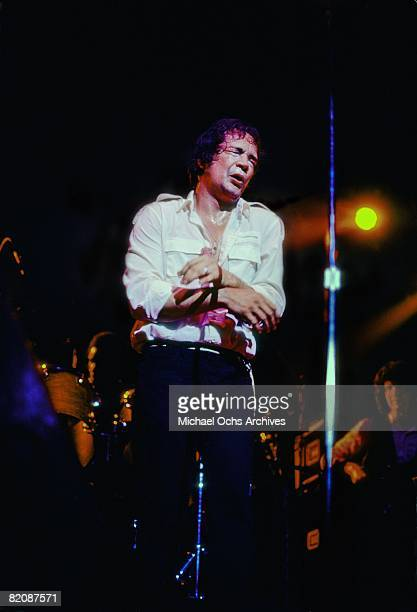 Mitch Ryder performs on stage in his home town in June 1980 in Detroit Michigan