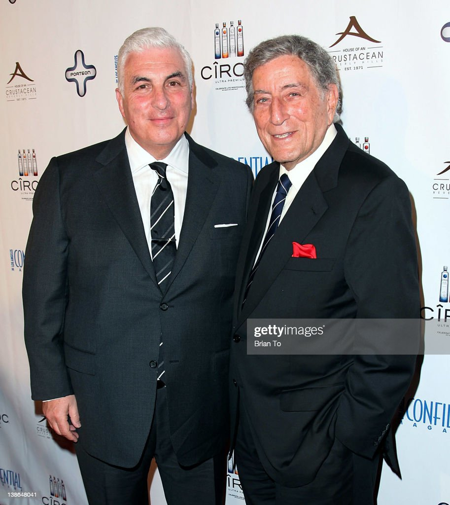 Los Angeles Confidential Magazine And Tony Bennett Celebrate The GRAMMYs