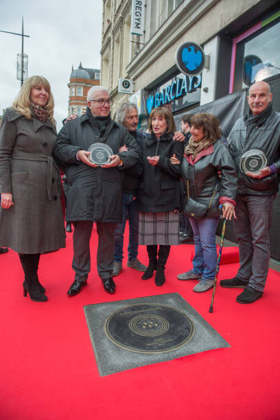 GBR: Amy Winehouse Music Walk Of Fame Unveiling