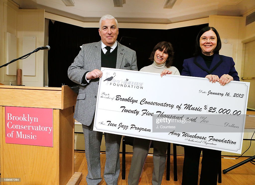The Amy Winehouse Foundation Honors Brooklyn Conservatory Of Music With Grant