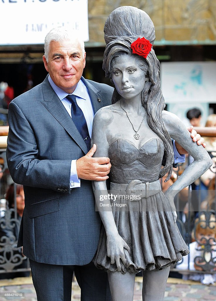 Amy Winehouse Statue Unveiling : News Photo