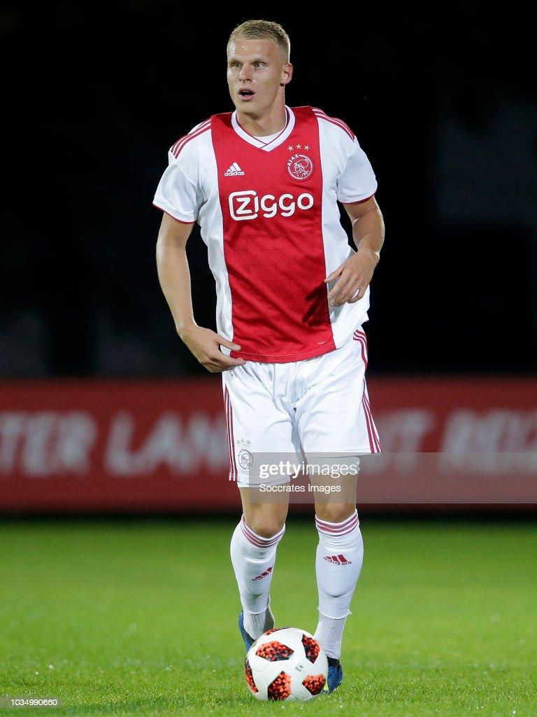 Mitchel Bakker Of Ajax U23 During The Dutch Keuken Kampioen Divisie News Photo Getty Images