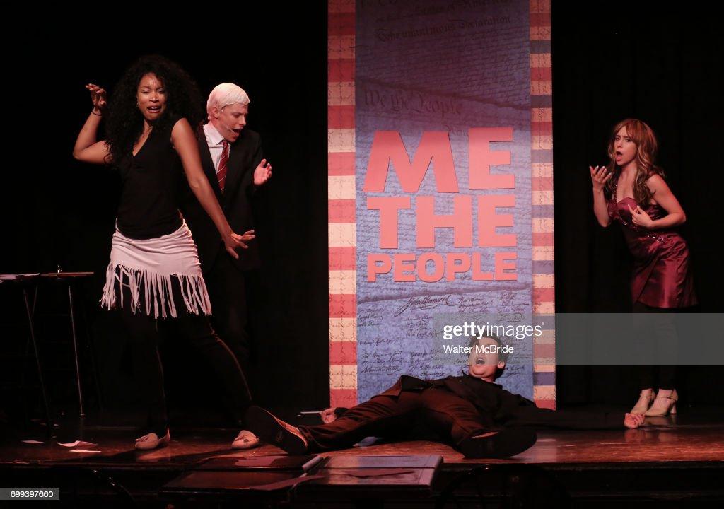Mitchel Kawash Aiesha Alia Dukes Richard Spitaletta And Mia Weinberger Perform Onstage During