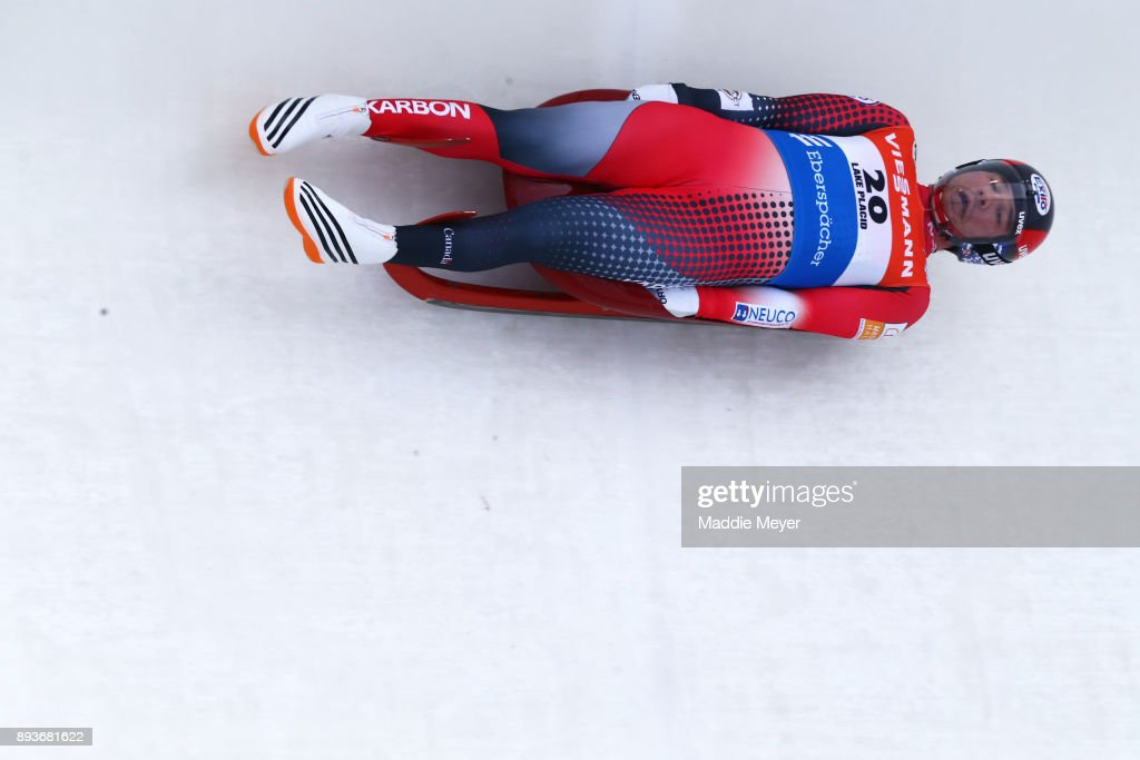 Viessmann FIL Luge World Cup Race & US Olympic Team Announcement
