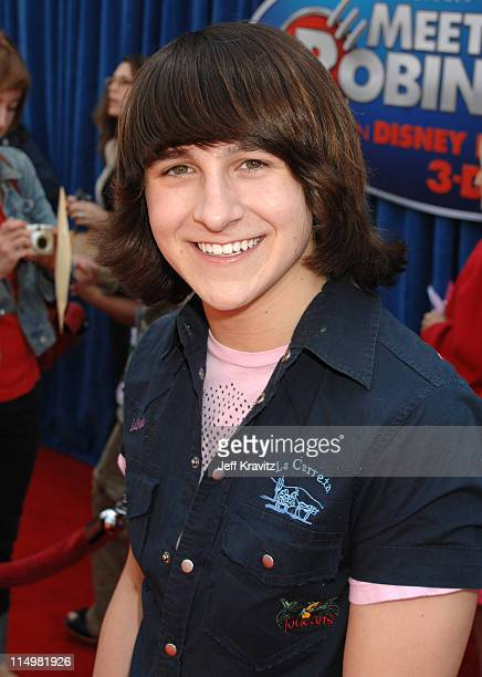 Mitchel Musso during 'Meet The Robinsons' Los Angeles Premiere Red Carpet at El Capitan Theatre in Hollywood California United States