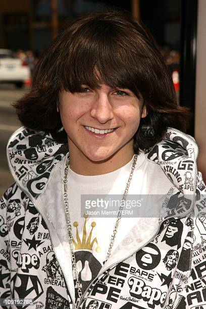 Mitchel Musso during 'Nancy Drew' Los Angeles Premiere Red Carpet at Grauman's Chinese Theater in Hollywood California United States