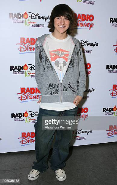 Mitchel Musso during Radio Disney Announces Live Webcast of SoldOut Concert Event The Radio Disney Totally 10 Birthday Concert at Anaheim Pond in...