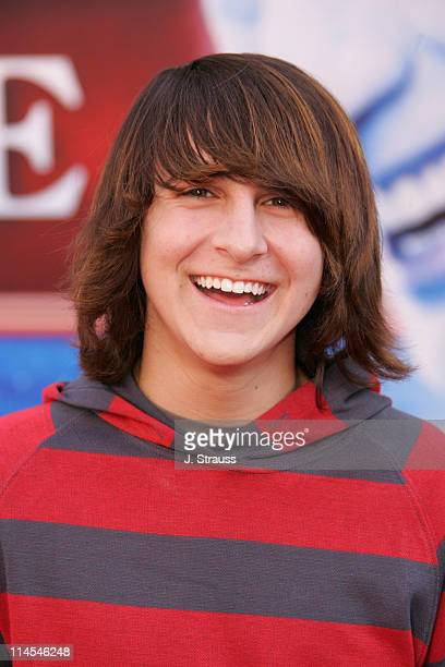 Mitchel Musso during 'The Santa Clause 3 The Escape Clause' Los Angeles Premiere Arrivals at El Capitan in Hollywood California United States