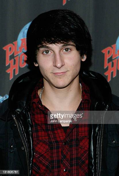 Mitchel Musso visits Planet Hollywood Times Square on October 12 2010 in New York City
