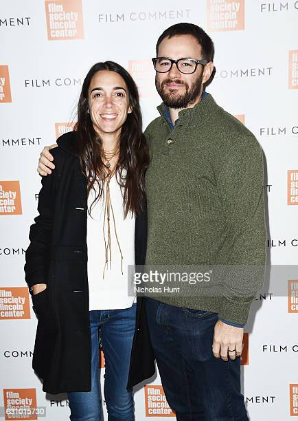 Mitchel Varisco and Director Clay Tweel attends the 2016 Film Society Of Lincoln Center Film Comment Luncheon at Scarpetta on January 4 2017 in New...