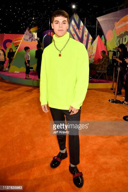 Mitchell attends Nickelodeon's 2019 Kids' Choice Awards at Galen Center on March 23, 2019 in Los Angeles, California.