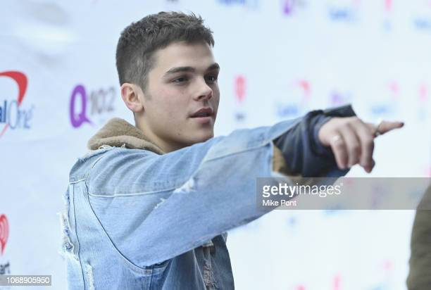 Mitchell attends Q102's Jingle Ball 2018 at Wells Fargo Center on December 5 2018 in Philadelphia Pennsylvania