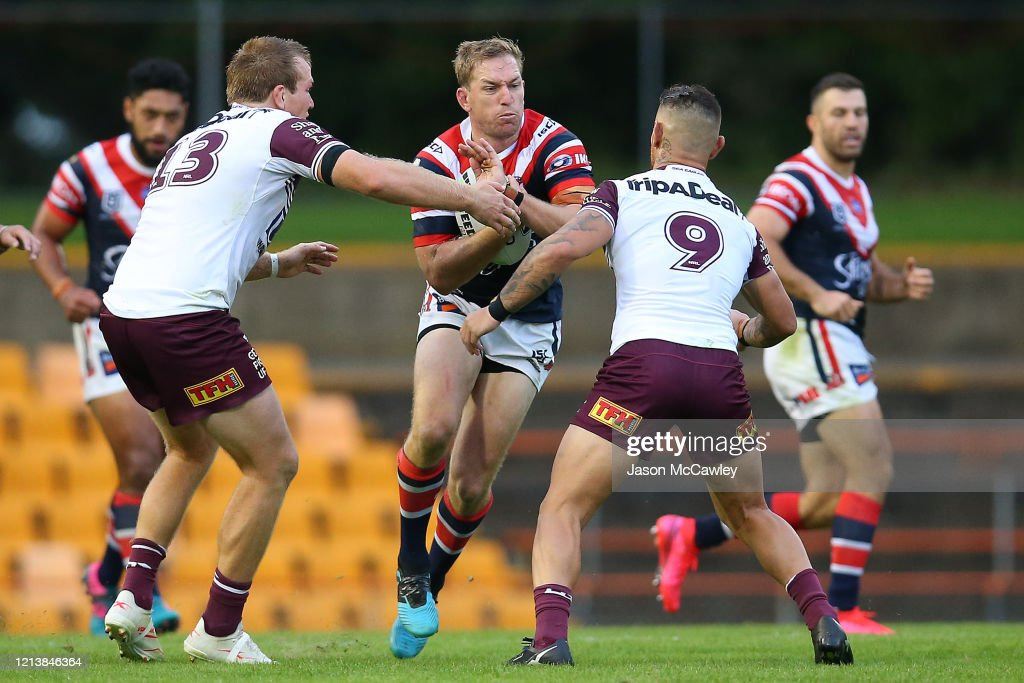 NRL Rd 2 - Roosters v Sea Eagles : News Photo