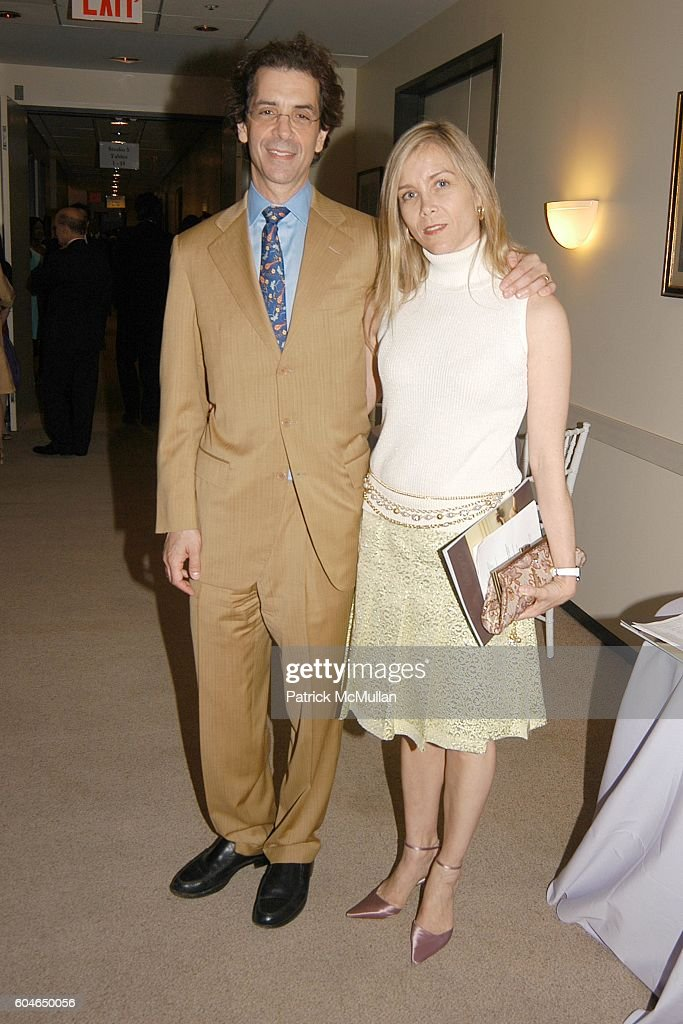 mitchell blutt and margo krody blutt attend school of american ballet workshop performance benefit at lincoln
