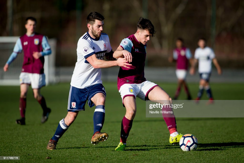Aston Villa v Middlesbrough: Premier League 2 : News Photo