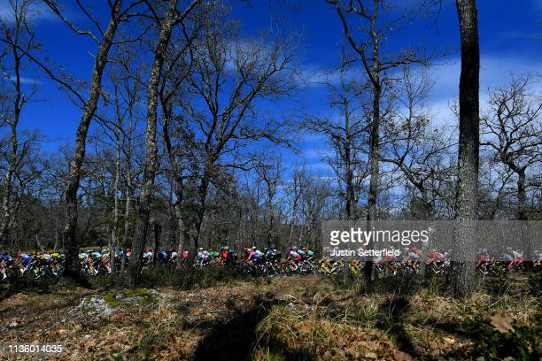 Mitchell Docker of Australia and Team EF Education First / Peloton / Landscape / during the 77th Paris - Nice 2019, Stage 6 a 176,5km stage from...