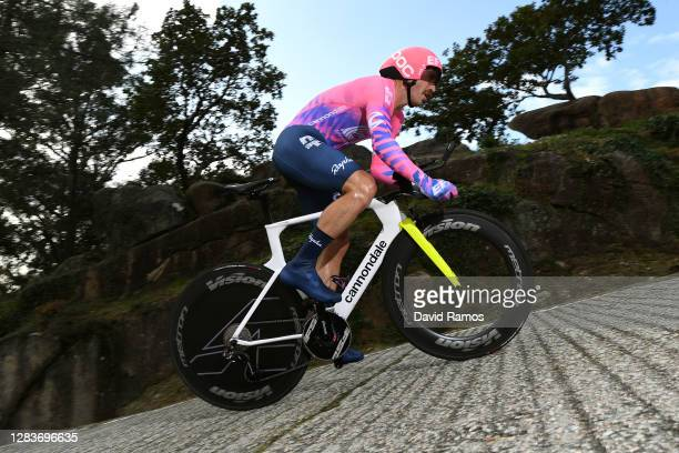 Mitchell Docker of Australia and Team EF Pro Cycling / during the 75th Tour of Spain 2020, Stage 13 a 33,7km Individual Time Trial stage from Muros...