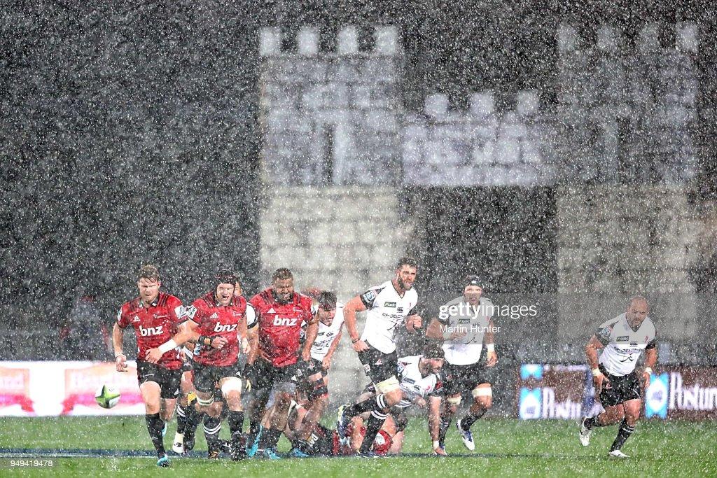 Super Rugby Rd 10 - Crusaders v Sunwolves : Fotografía de noticias
