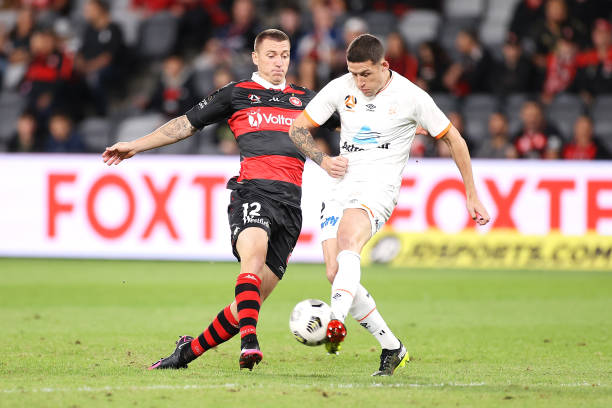 AUS: A-League - Western Sydney v Brisbane