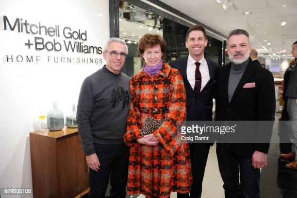 Mitchell Gold Wendy Goodman Connor Nix and Bob Williams attend the New York Magazine Bloomingdale's celebration of the new Mitchell Gold Bob Williams...