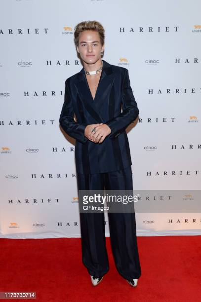 Mitchell Hoog arrives at Harriet World Premiere Party Hosted By CÎROC Vodka at Mister C during the Toronto International Film Festival>> on September...