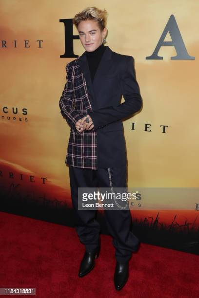 Mitchell Hoog attends Premiere Of Focus Features' Harriet at The Orpheum Theatre on October 29 2019 in Los Angeles California