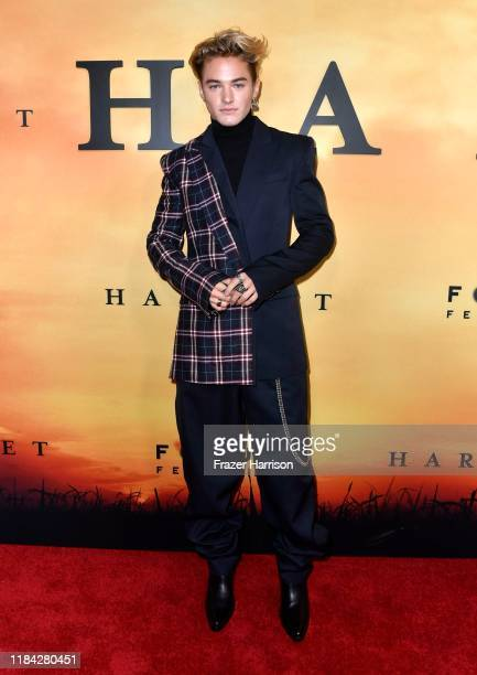 Mitchell Hoog attends the premiere of Focus Features' Harriet at The Orpheum Theatre on October 29 2019 in Los Angeles California