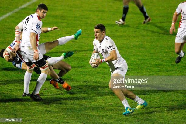 Mitchell Inman of Oyonnax during the Pro D2 match between Massy and Oyonnax on November 9 2018 in Massy France