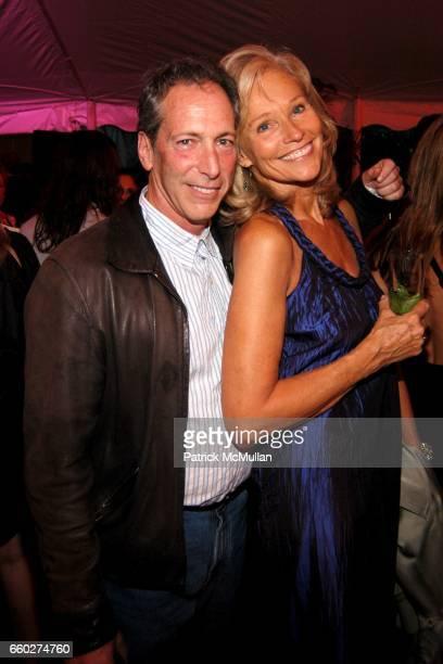 Mitchell Kriegman and Brenda Siemer Scheider attend ROSS SCHOOL'S 6th Annual Club Starlight Benefit at The Ross School on June 20, 2009 in East...