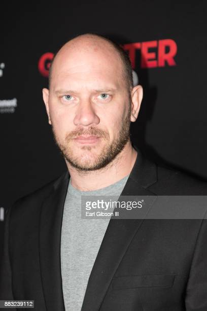 Mitchell L Johnson attends the Premiere Of Cinedigm's 'Gangster Land' at the Egyptian Theatre on November 29 2017 in Hollywood California