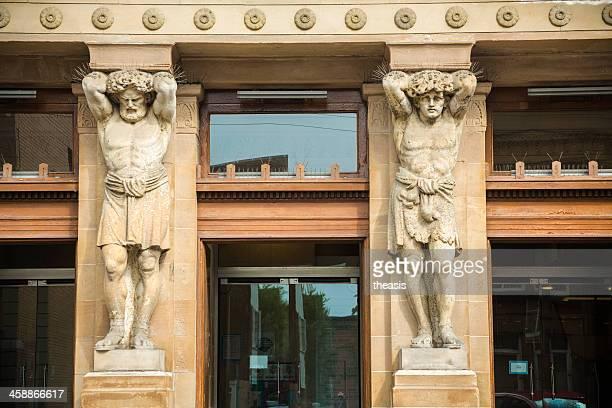 mitchell bibliothèque, glasgow - theasis photos et images de collection