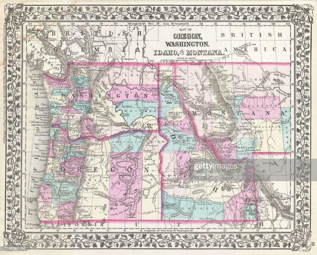1877, Mitc Map of Oregon, Washington, Idaho and Montana ... on oregon road map, oregon great basin map, oregon capital city map, oregon trail through idaho, oregon st. louis map, oregon california map, oregon native american reservations map, oregon portland map, oregon nebraska map, oregon basalt gold, oregon state map, oregon colorado map, oregon canada map, oregon nez perce map, oregon albany map, oregon phoenix map, oregon salmon river map, oregon ohio map, oregon il map, oregon coast hiking trail map,