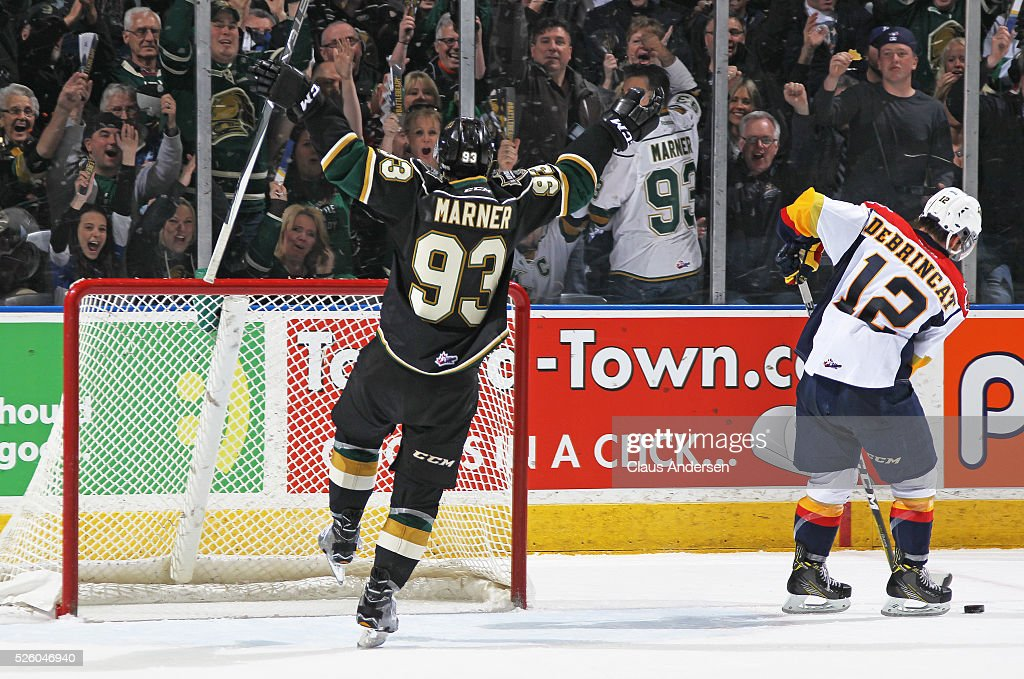 Erie Otters v London Knights - Game Four : News Photo